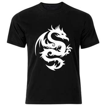 تی شرت استین کوتاه مردانه نوین نقش طرح BW5070