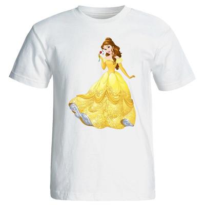تصویر تی شرت پارس طرح کارتونی پرنسس یاسمن کد 3645