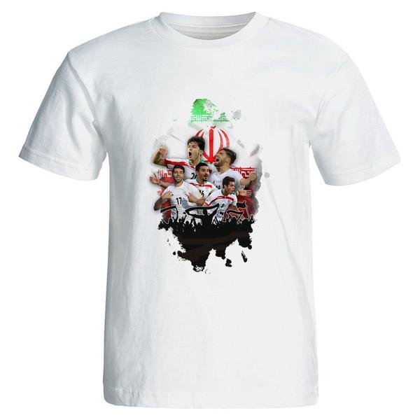 تی شرت نگار ایرانی طرح هواداری  ایران B11