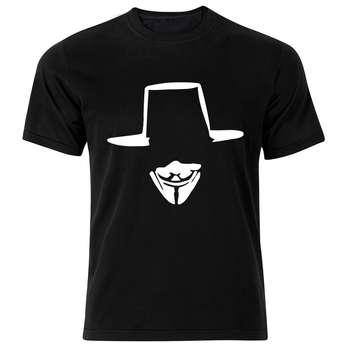 تی شرت استین کوتاه مردانه نوین نقش طرح BW5082