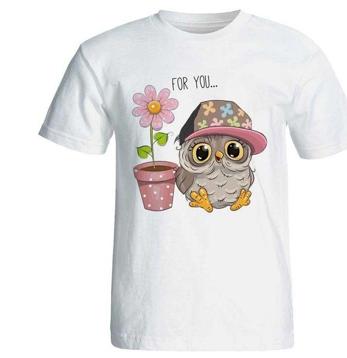 تی شرت زنانه پارس طرح کارتونی کد 3739 main 1 1