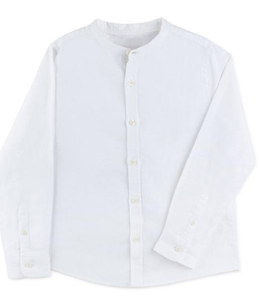 پیراهن پسرانه گوکو طرح یقه دیپلمات کد 4