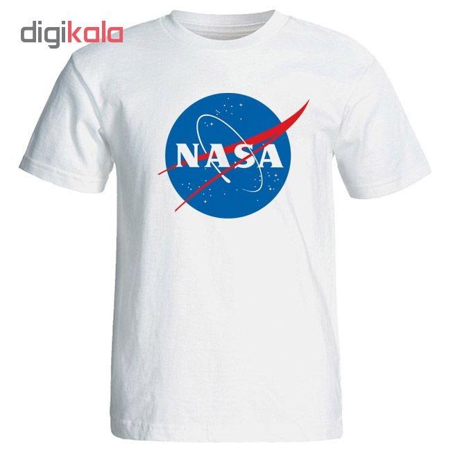 تیشرت زنانه طرح NASA کد 3911 main 1 1