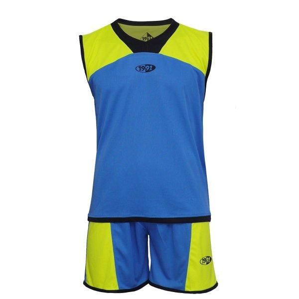 پیراهن و شورت ورزشی 1991 اس دبلیو مدل Star Blueyellowblack
