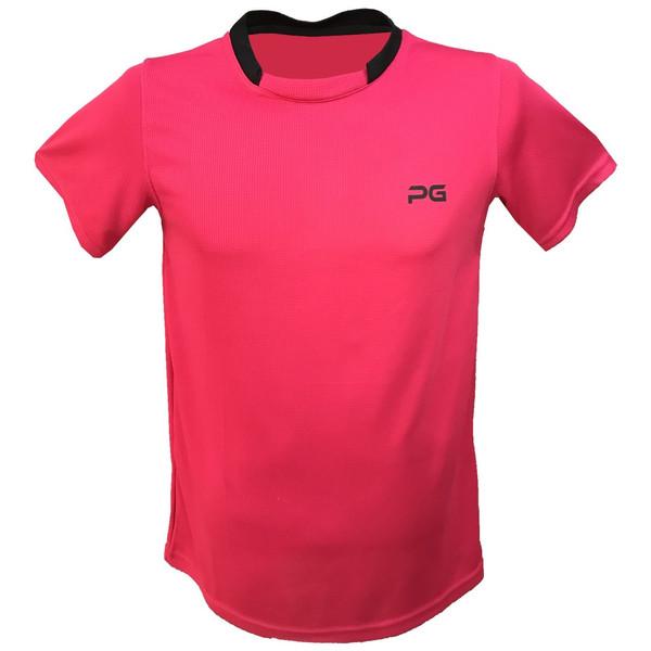 تیشرت آستین کوتاه مردانه پرگان مدل Pink 1-4