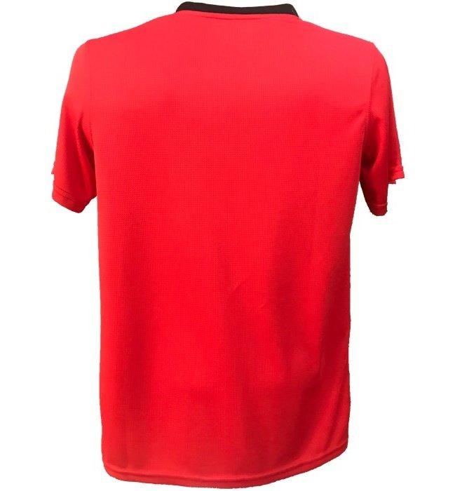 تی شرت آستین کوتاه مردانه پرگان مدل Red 1-3