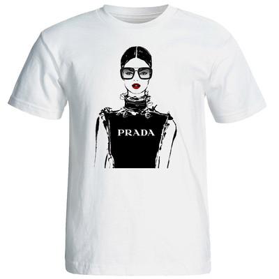 تی شرت آستین کوتاه زنانه شین دیزاین طرح فانتزی کد 4526