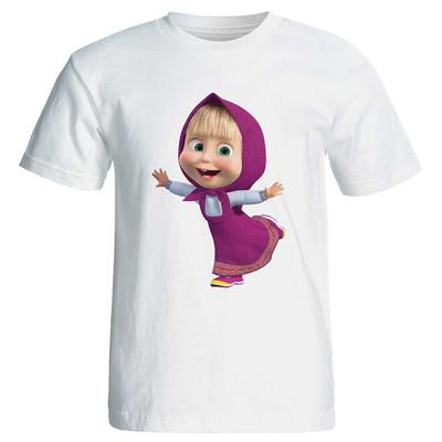 Photo of تی شرت زنانه مارس طرح کارتونی میشا کد 3706