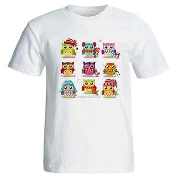 تی شرت زنانه طرح جغد مری کریسمس کد 3720