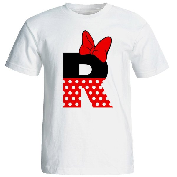 تی شرت آستین کوتاه زنانه شین دیزاین طرح میکی موس R کد 4533