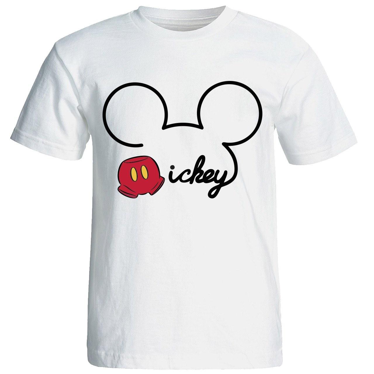 Photo of تی شرت آستین کوتاه مردانه شین دیزاین طرح میکی موس  کد 4491