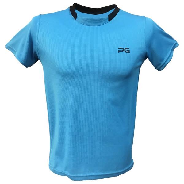 تیشرت آستین کوتاه مردانه پرگان مدل Light Blue 1-6