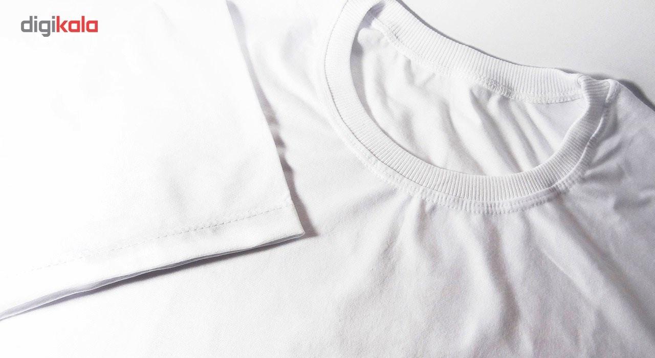 تی شرت آستین کوتاه مردانه شین دیزاین طرح حروف اول اسم ام کد 4551