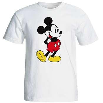 تی شرت آستین کوتاه مردانه شین دیزاین طرح میکی موس کد 4525
