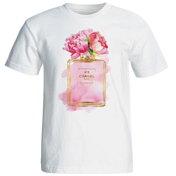 تی شرت آستین کوتاه زنانه شین دیزاین طرح فانتزی کد 4527