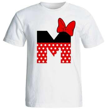 تی شرت آستین کوتاه زنانه شین دیزاین طرح میکی موس M کد 4529