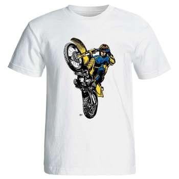 تی شرت مردانه پارس طرح موتور سیکلت کد 3850