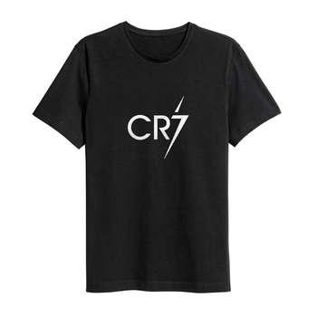 تی شرت نخی ورزشی سام آرت مدل کریستیانو رونالدو کد 210