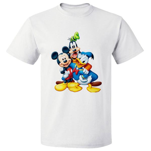 تی شرت آستین کوتاه مارس طرح میکی موس کد 3889