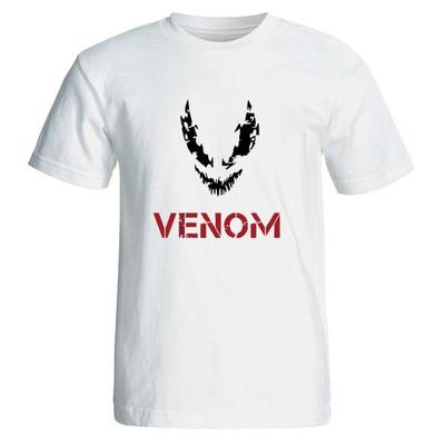 تیشرت مردانه طرح فیلم ونوم venom مدل 3830
