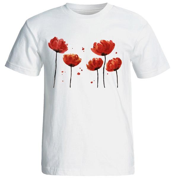 تی شرت آستین کوتاه زنانه شین دیزاین طرح فانتزی کد 4492