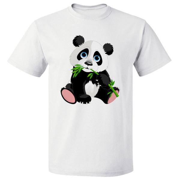 تی شرت آستین کوتاه مردانه مارس طرح پاندا کد 3898