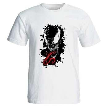 تیشرت مردانه طرح فیلم ونوم venom مدل 7002