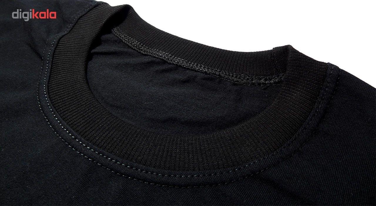 تی شرت استین کوتاه مردانه نوین نقش طرح BY5095 main 1 2