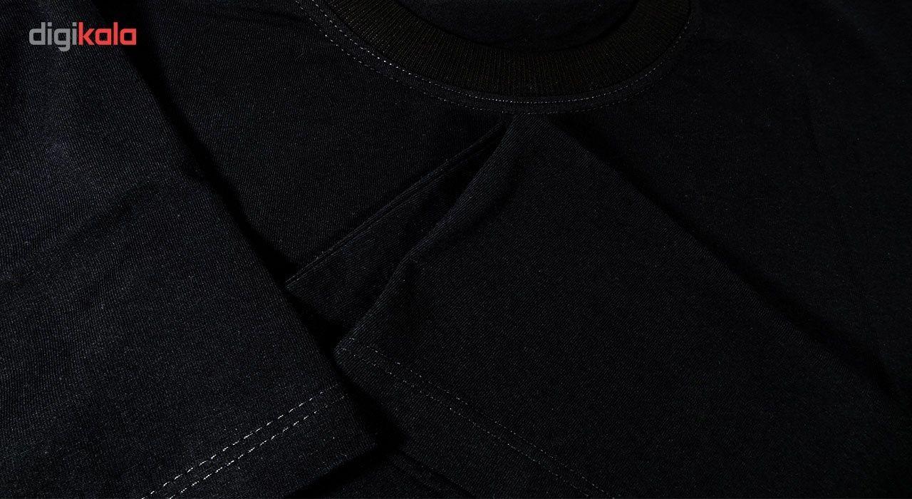 تی شرت استین کوتاه مردانه نوین نقش طرح BY5095 main 1 3