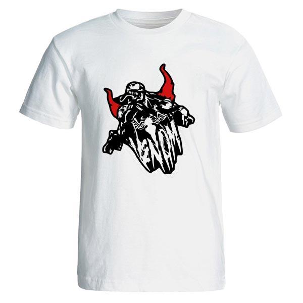 تصویر تیشرت مردانه طرح فیلم ونوم venom مدل 3808
