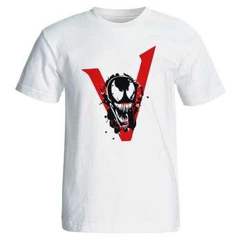 تیشرت مردانه طرح فیلم ونوم venom مدل 3809