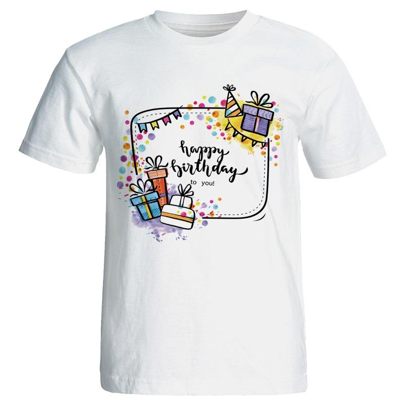 تی شرت زنانه طرح کادو تولد کد ۷۰۵۹