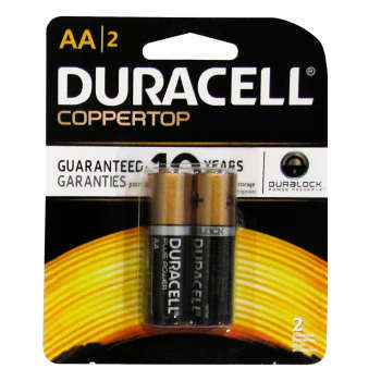 باتری قلمی دوراسل مدل  Plus Power Coppertop بسته 2 عددی