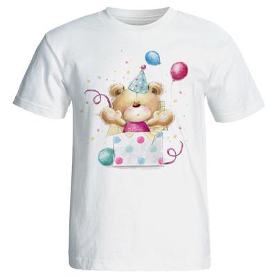تی شرت زنانه طرح خرس تولد کد 7073