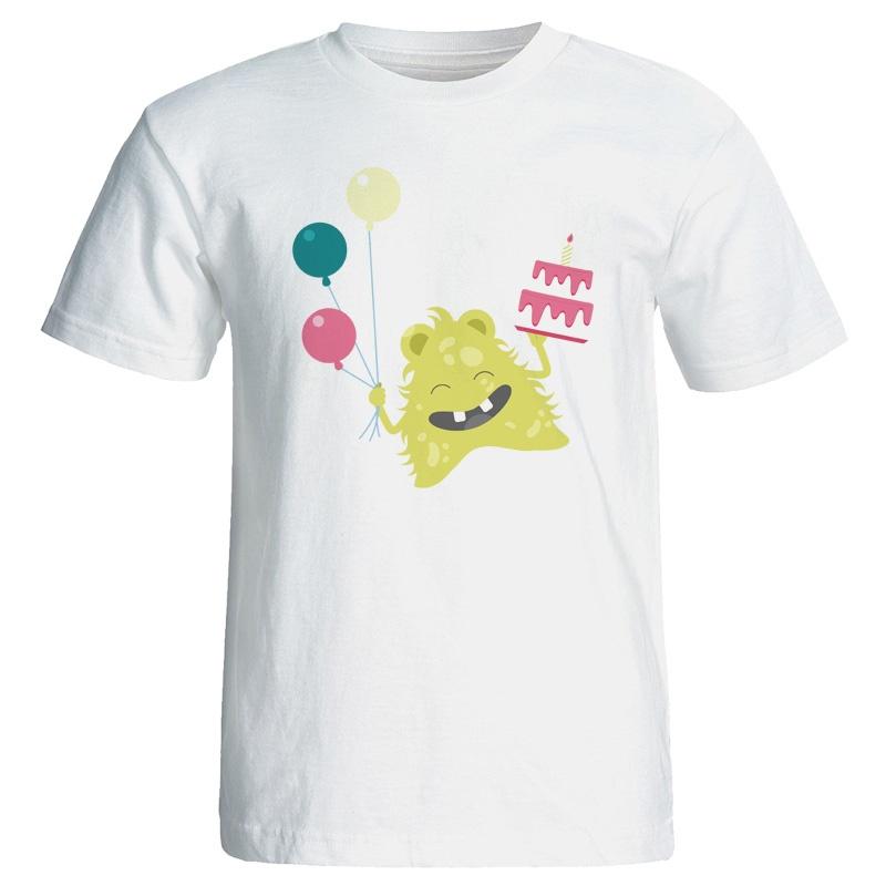 تی شرت نه طرح کیک تولد کد 7069