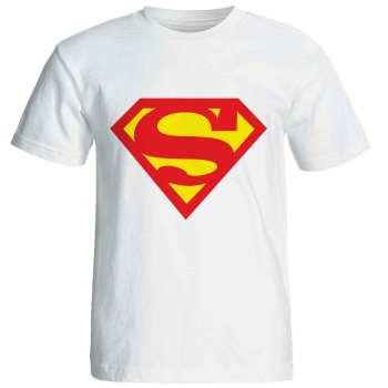 تی شرت آستین کوتاه زنانه شین دیزاین طرح سوپر من کد 4141
