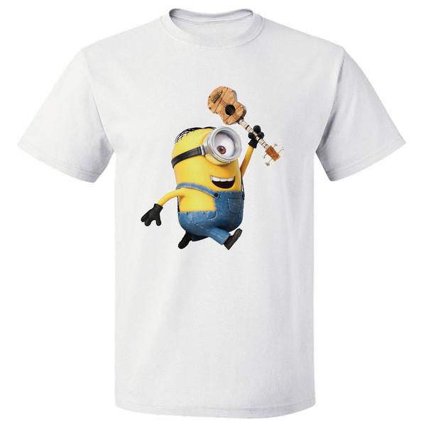 تی شرت آستین کوتاه مارس طرح مینیون کد 3881