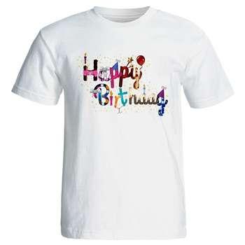 تی شرت زنانه طرح تولد کد 7097