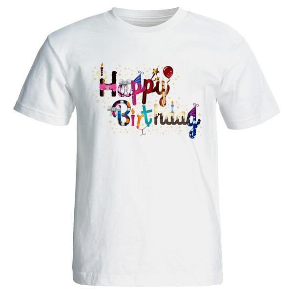 تی شرت زنانه طرح هپی برس دی تو یو کد 7097