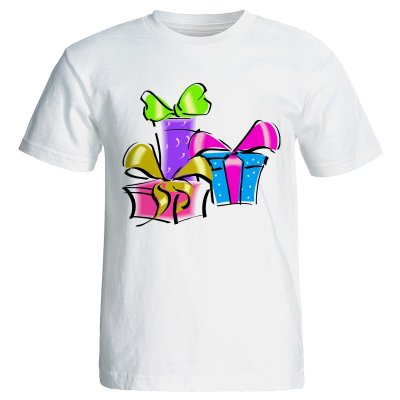تی شرت زنانه طرح کادو تولد کد 7056