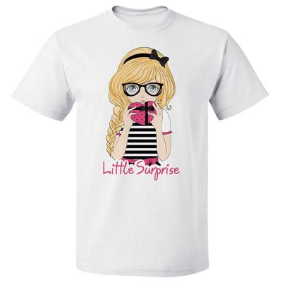 تی شرت پارس طرح کارتونی دختر کد 7129