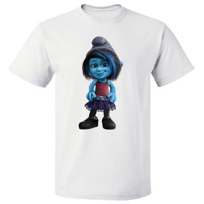 تی شرت پارس طرح  کارتونی اسمورف کد 7135
