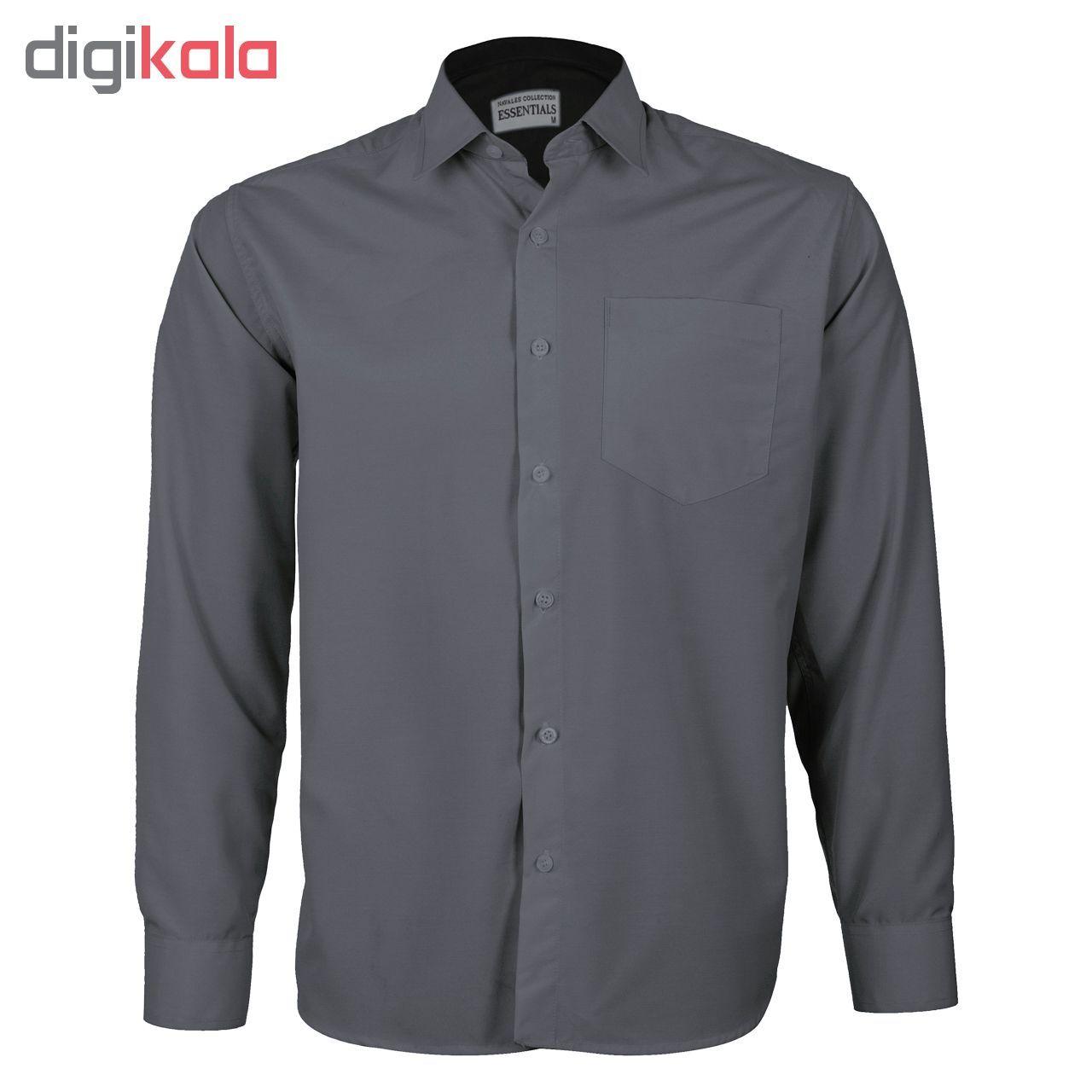 پیراهن مردانه ناوالس کد RegularFit-Tet-Dgy main 1 1