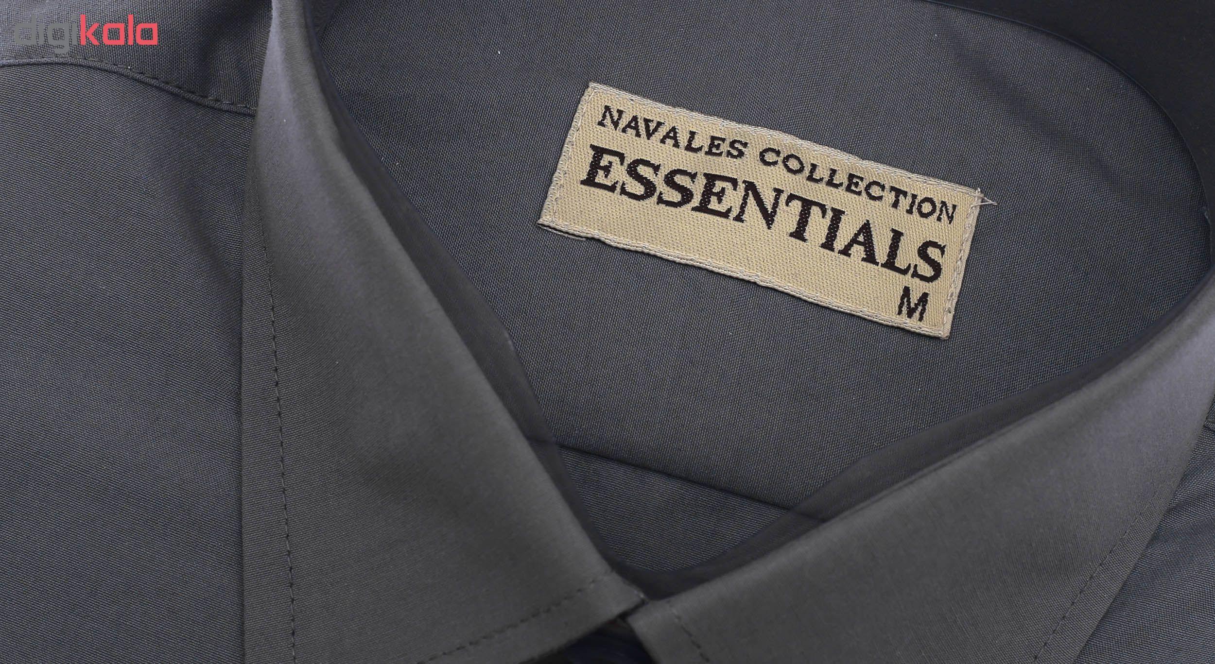پیراهن مردانه ناوالس کد RegularFit-Tet-Dgy main 1 5