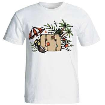 تی شرت آستین کوتاه زنانه شین دیزاین طرح فانتزی کد 4466