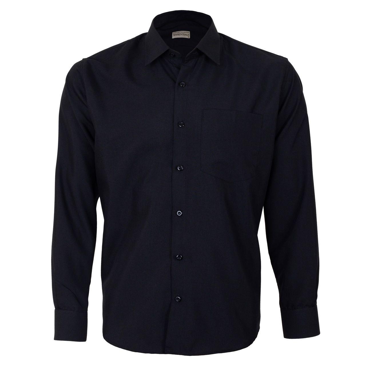 پیراهن مردانه ناوالس کد RegularFit-Tet-BK -  - 2