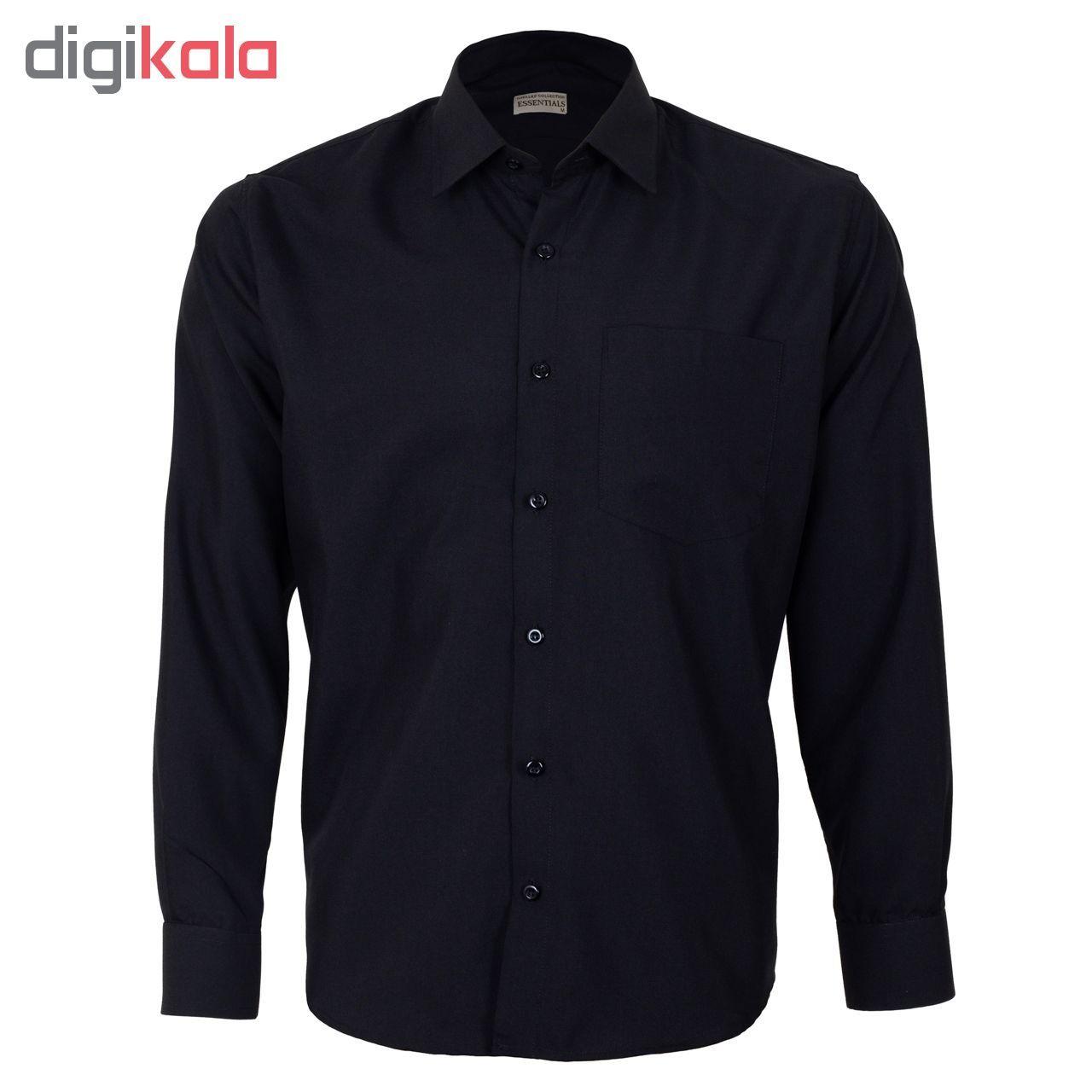 پیراهن مردانه ناوالس کد RegularFit-Tet-BK -  - 3