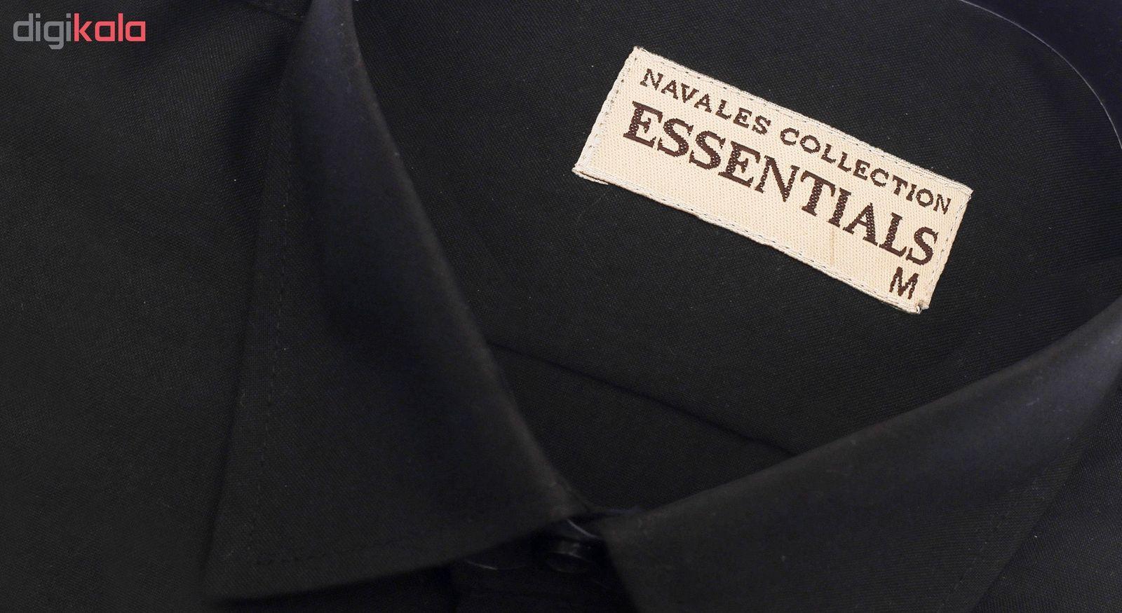 پیراهن مردانه ناوالس کد RegularFit-Tet-BK -  - 7