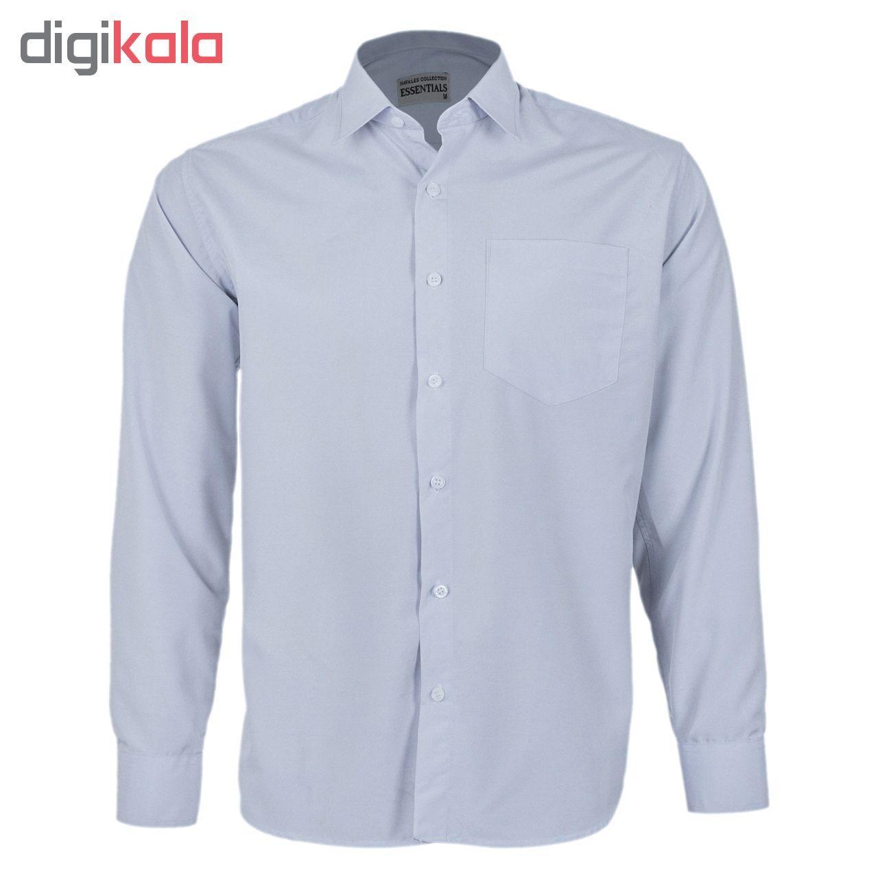 پیراهن مردانه ناوالس کد RegularFit-Tet-Lgy -  - 3