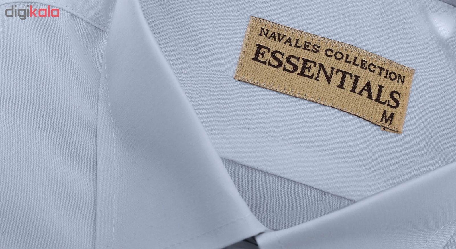 پیراهن مردانه ناوالس کد RegularFit-Tet-Lgy -  - 7